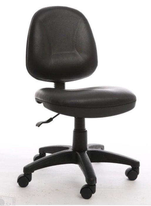 Ghế nhân viên lưng bầu không tay KG – 028