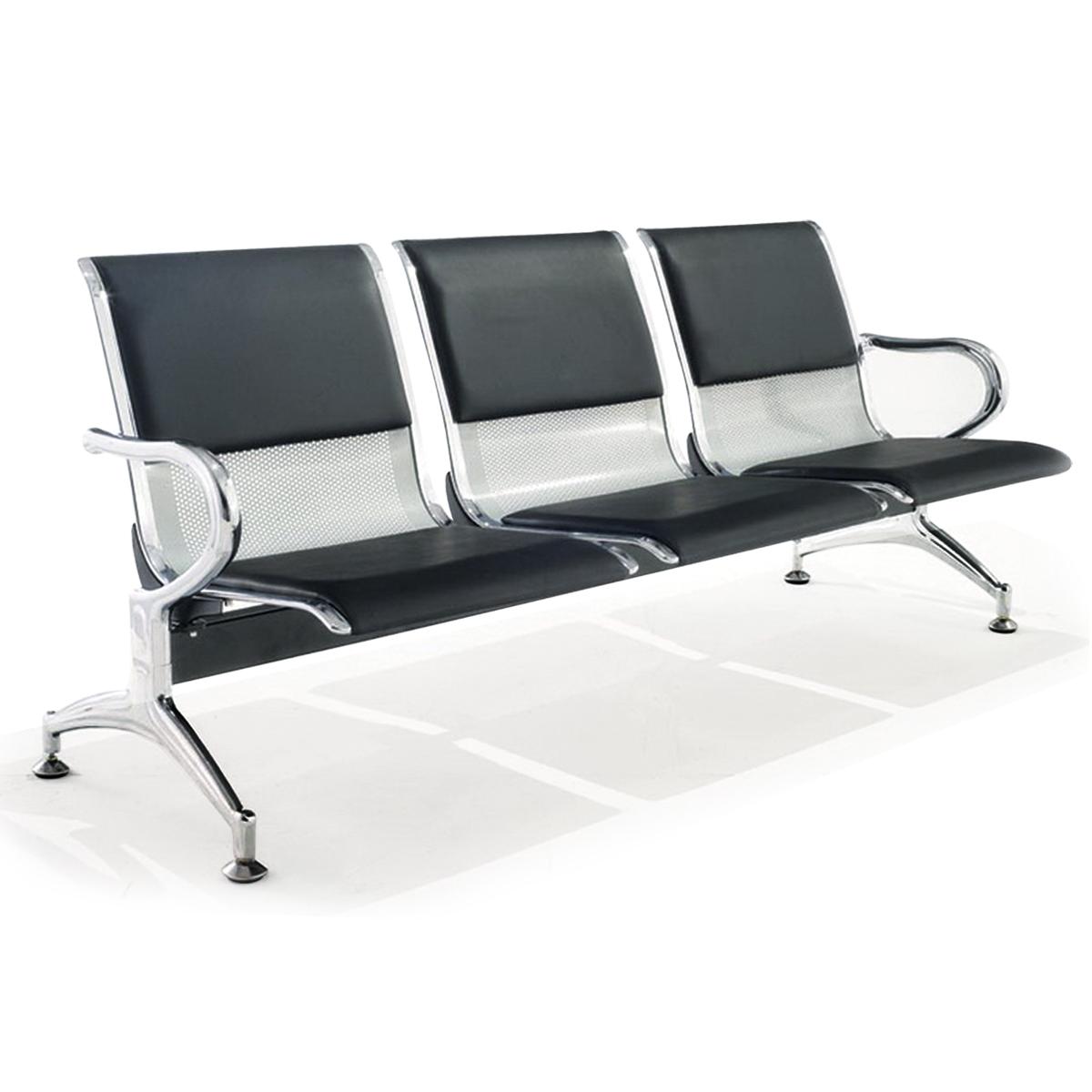 Ghế băng chờ 3 chỗ có nệm – Mã : 03N