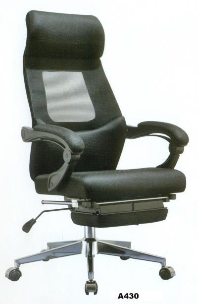 Ghế lưới văn phòng cao cấp ngả lưng có gác chân