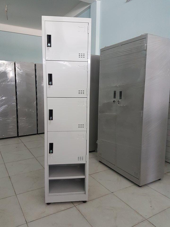 Tủ cá nhân 4 cánh 2 ngăn đựng giày dép