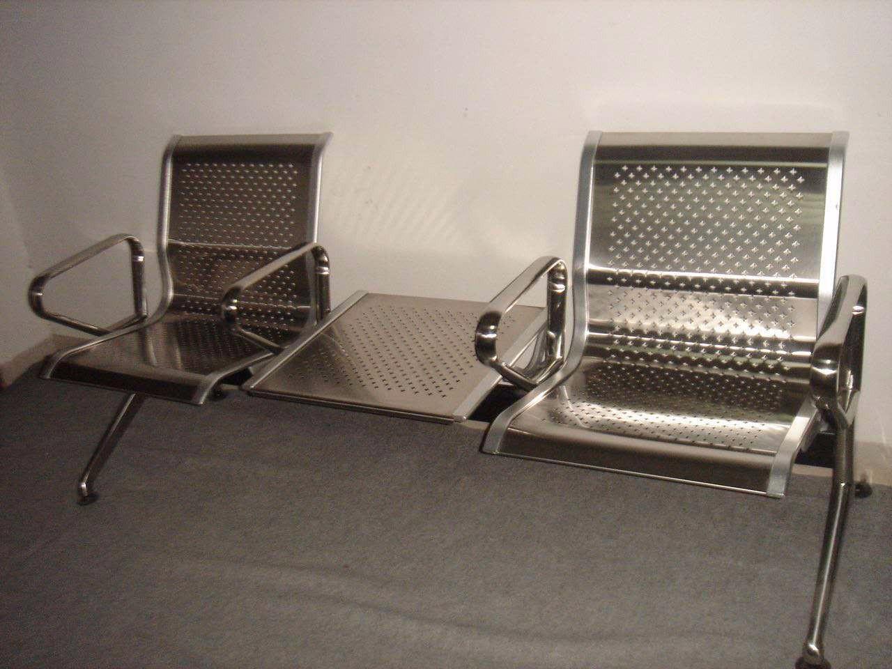 Ghế băng chờ inox 03BT