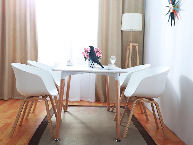 Bộ bàn ăn 80x120cm – 4 ghế HAY