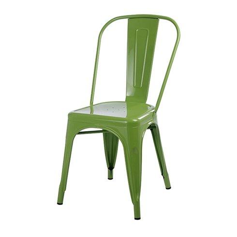 Ghế tolix màu xanh lá KG-01