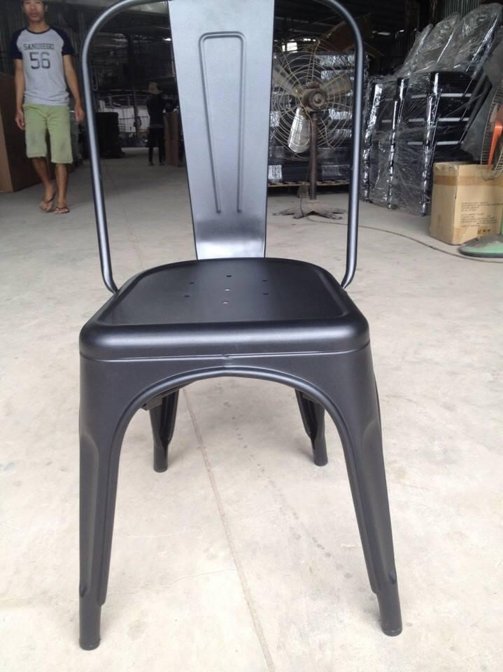 Ghế Tolix màu đen mờ KG – 01
