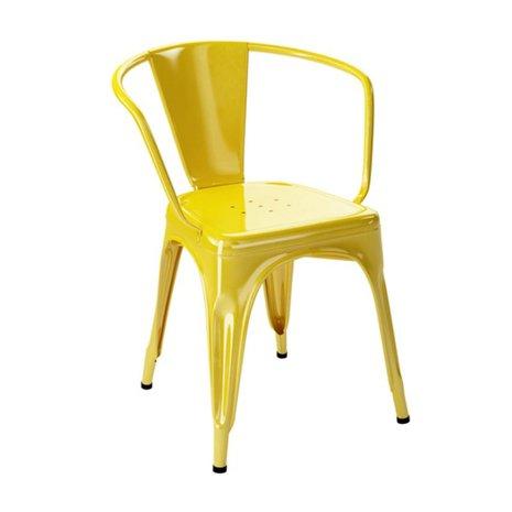 Ghế tolix có tay màu vàng KG-03