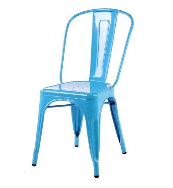 Ghế tolix màu xanh da trời KG-01