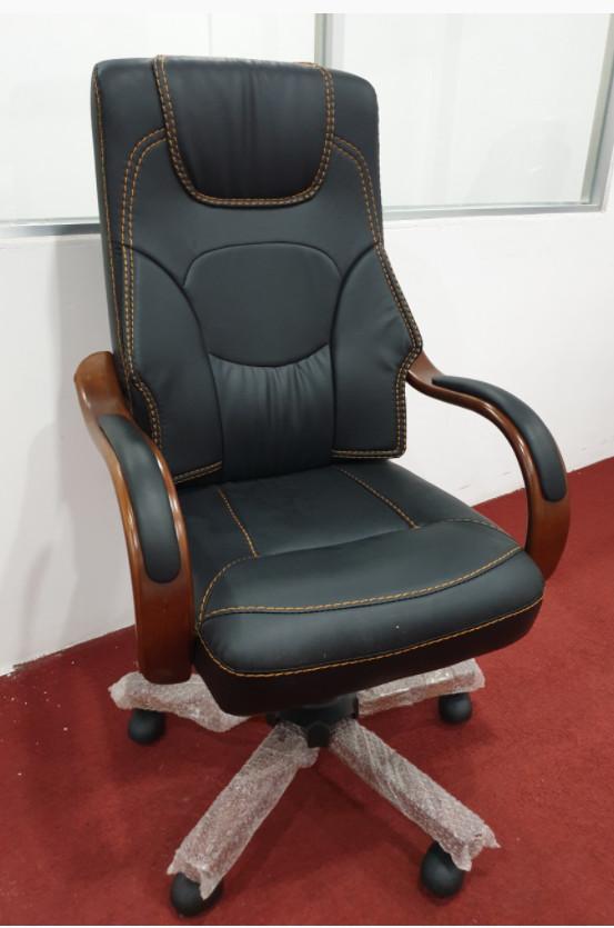 Ghế giám đốc nhập khẩu KG-9982 đen