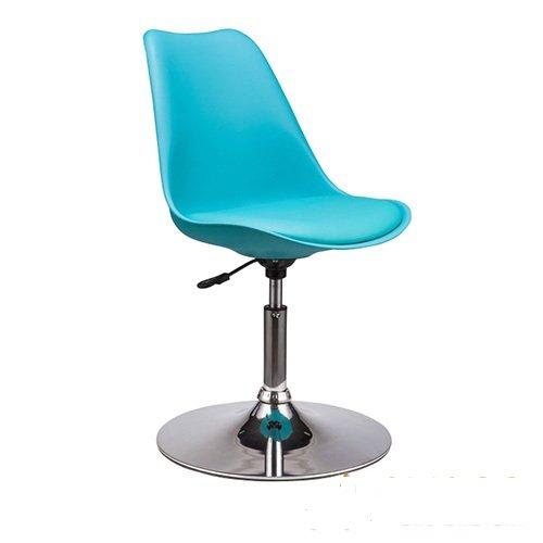 Ghế cafe, ghế ăn nhựa lót nệm chân trụ KG-186B