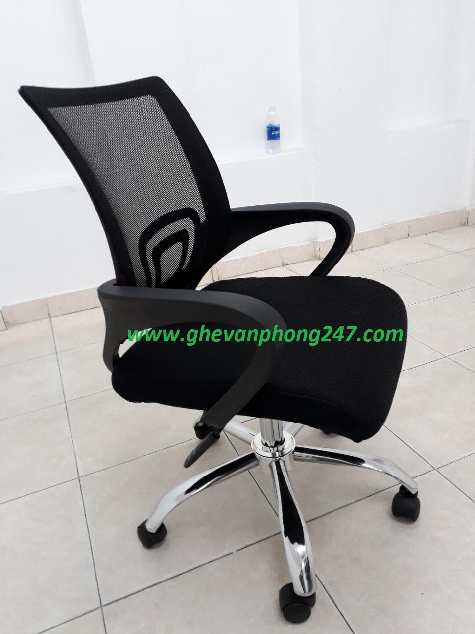 Ghế lưới văn phòng màu đen KG-112