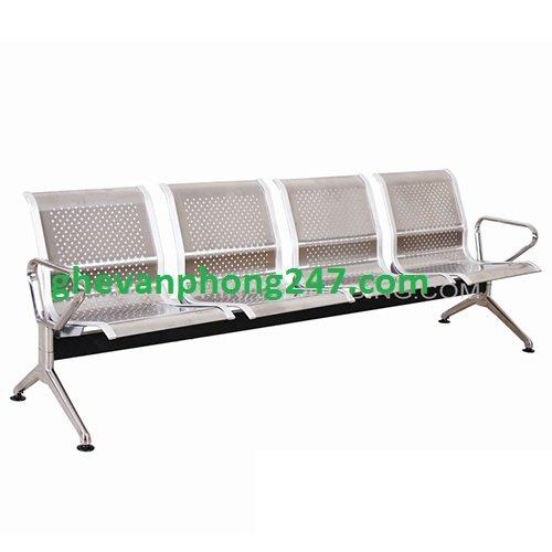 Ghế băng chờ inox 4 ghế – Mã: KG-04A