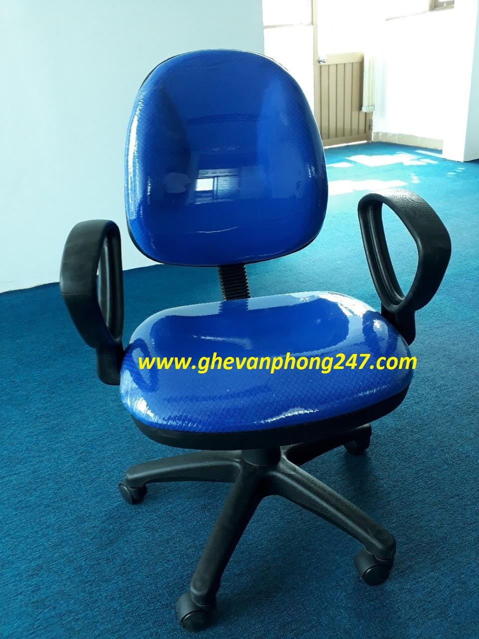 Ghế lưng bầu màu  xanh dương KG-028M