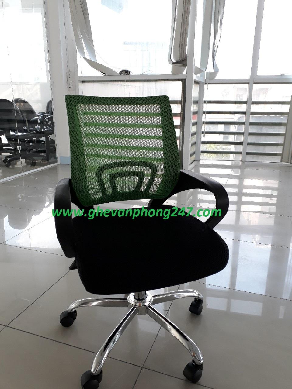 Ghế lưới xanh lá KG-517