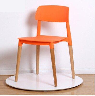 Ghế cafe nhựa 4 chân gỗ – Mã : 1080
