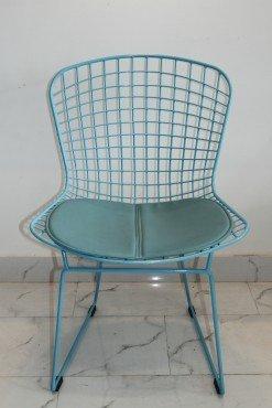 Ghế cafe sắt sơn tĩnh điện lót nệm – Mã 024