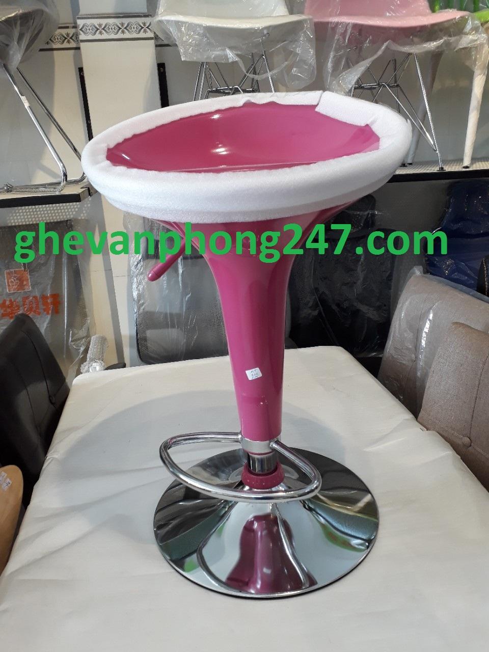 Ghế quầy cao hồng GB-101