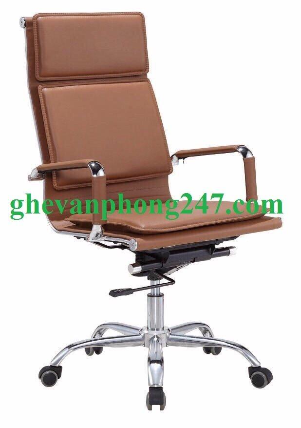 Ghế TP lưng cao nâu KG-50A