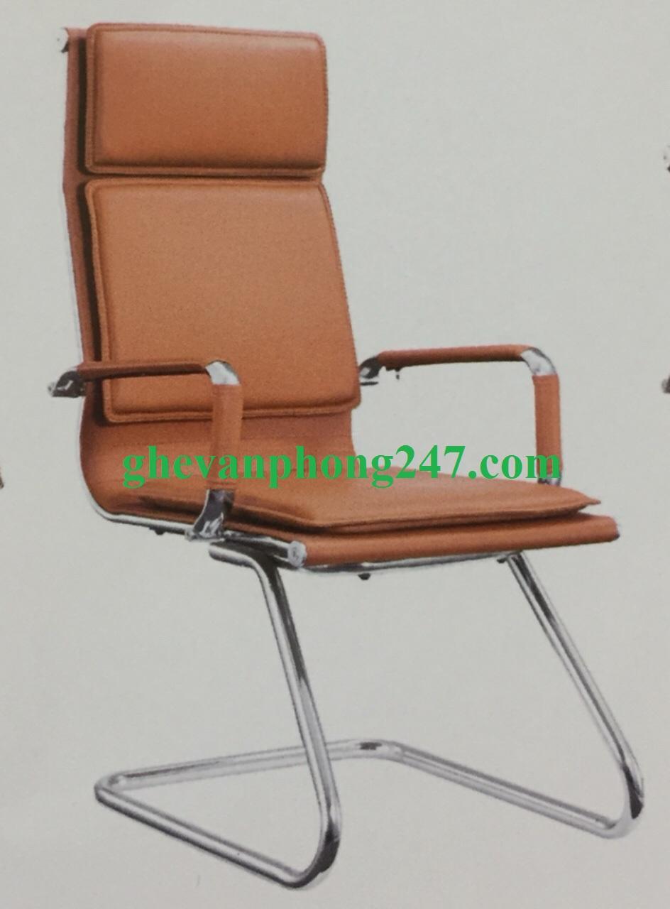 Ghế chân quỳ lưng cao nâu KG-50C