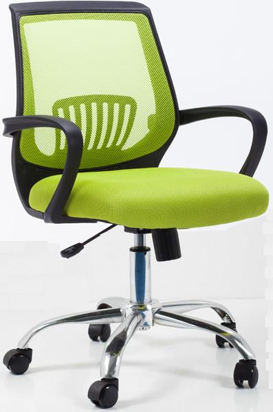 Ghế lưới nhân viên màu xanh lá  KG – 113
