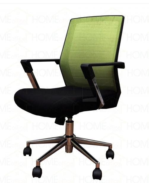 Ghế nhân viên lưng lưới màu xanh lá – H003