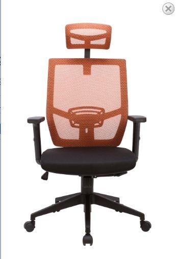 Ghế lưới lưng trung chân xoay có tựa đầu KG – H916