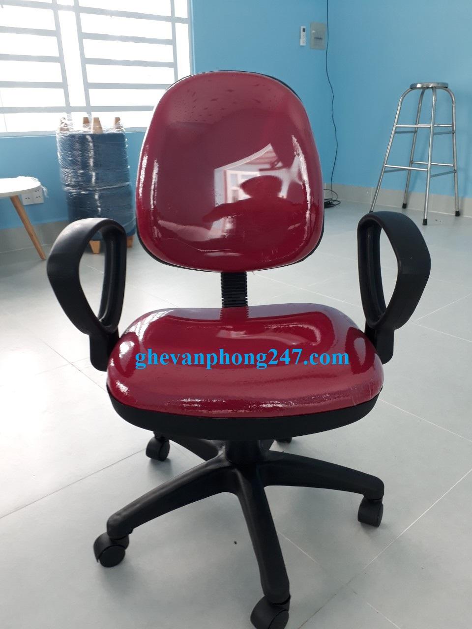 Ghế lưng bầu màu đỏ tươi  KG- 028M