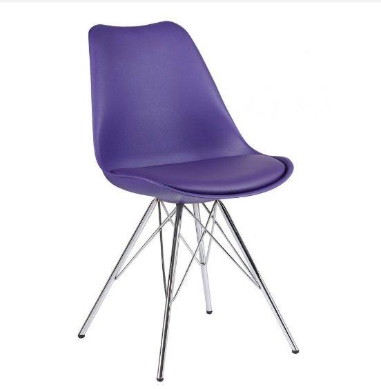 Ghế cafe, ghế ăn nhựa chân thép sơn tĩnh điện  – Mã: GN186A