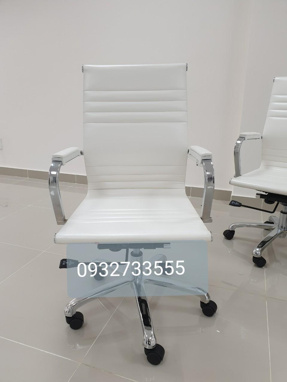Ghế xoay lưng nệm trung cho nhân viên văn phòng- Mã 511A