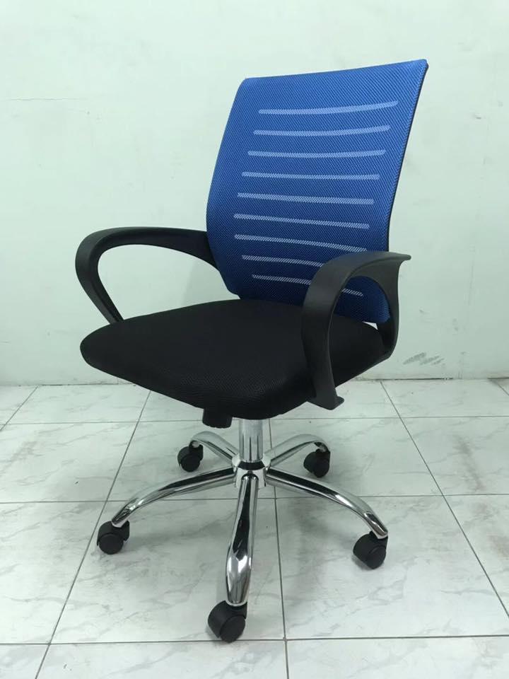 Ghế xoay nhân viên văn phòng lưng lưới giá rẻ- Mã: 525A
