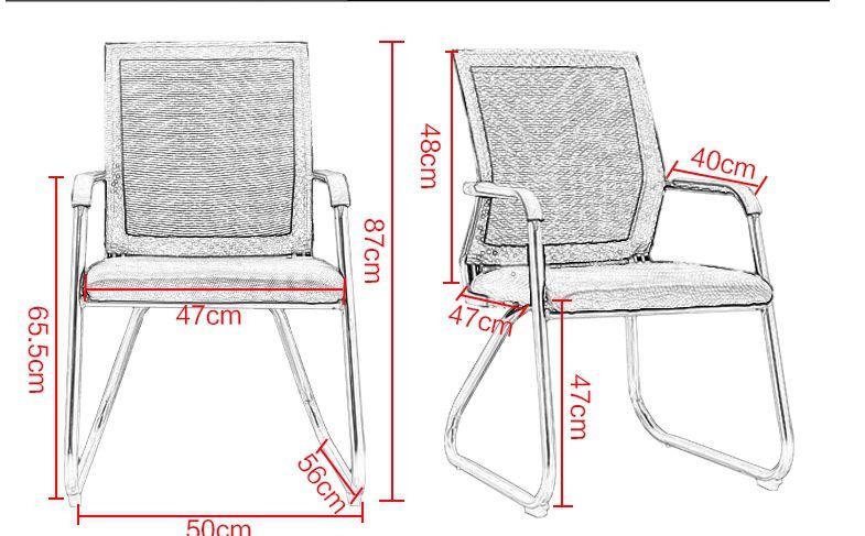 TOP 2 mẫu ghế văn phòng chân quỳ độc đáo giá rẻ tại TPHCM