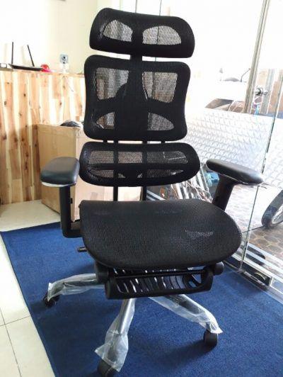 Ghế lưới giám đốc ngả nằm có gác chân – Mã : 187A