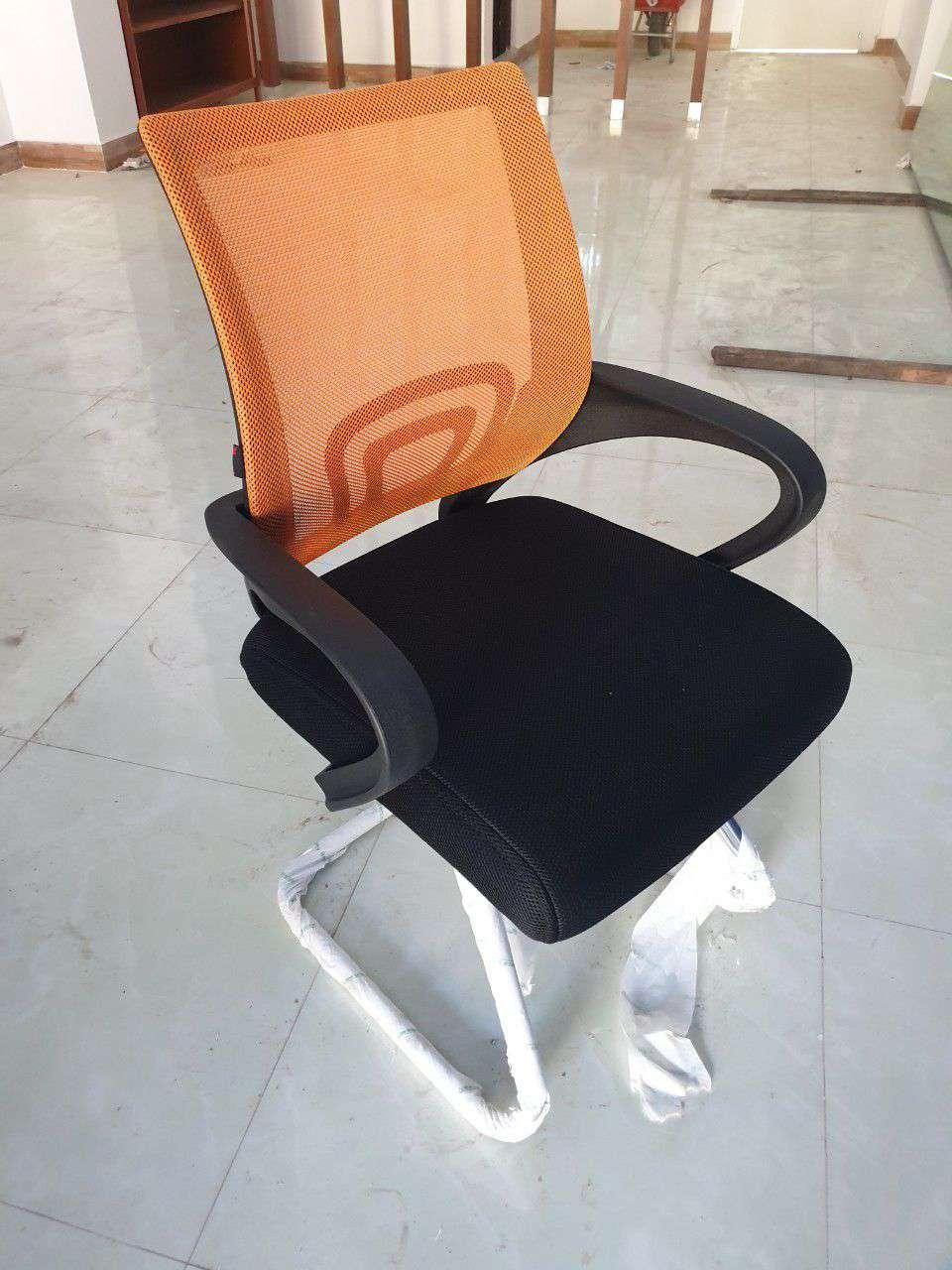 Ghế lưới chân quỳ cho phòng họp màu sắc theo yêu cầu – Mã : 112C-1