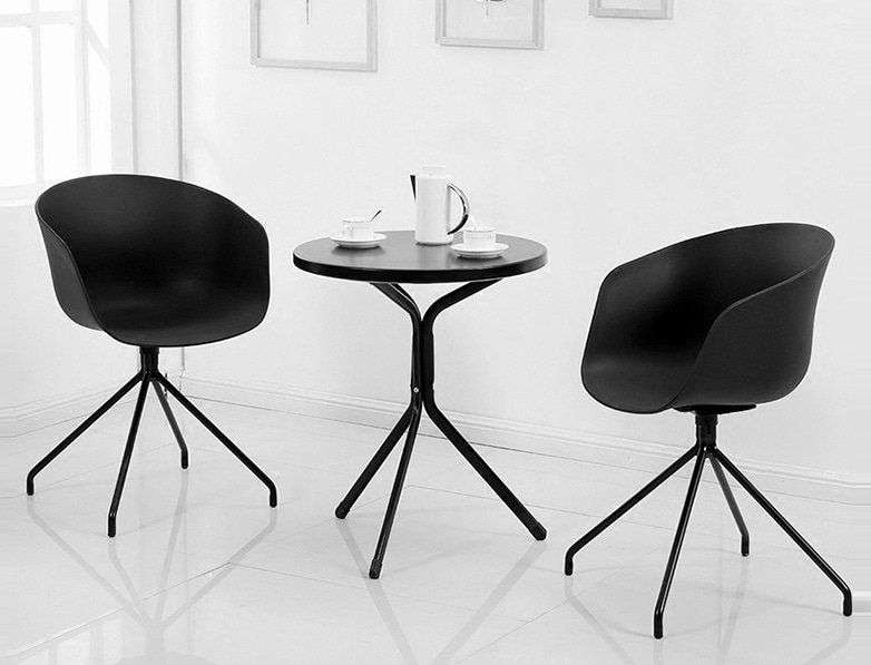 Bộ bàn ghế cafe tiếp khách tại nội thất Khang Gia – Mã : B924