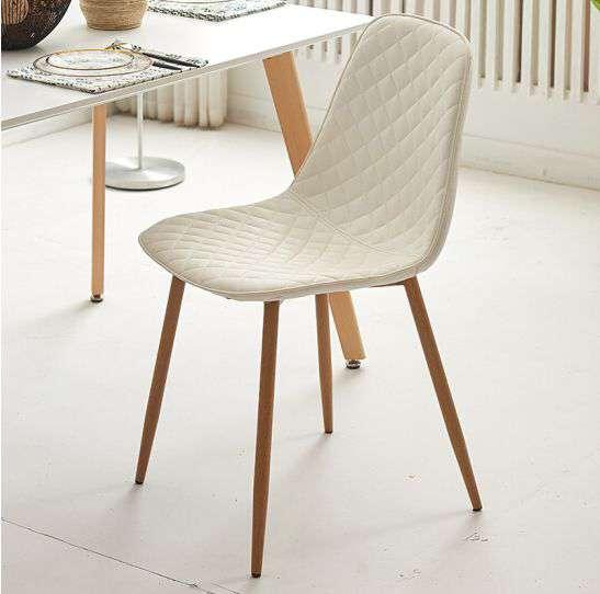 Ghế cafe – ghế ăn bọc nêm chân sắt giả gỗ – Mã : 177