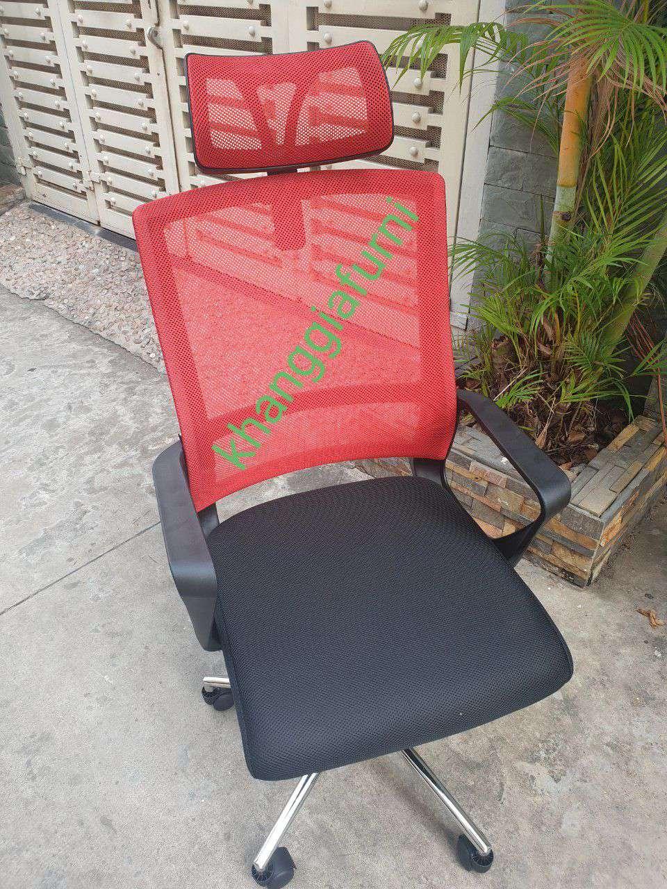 Ghế lưới lưng cao có gối đầu giá rẻ – Mã : 916