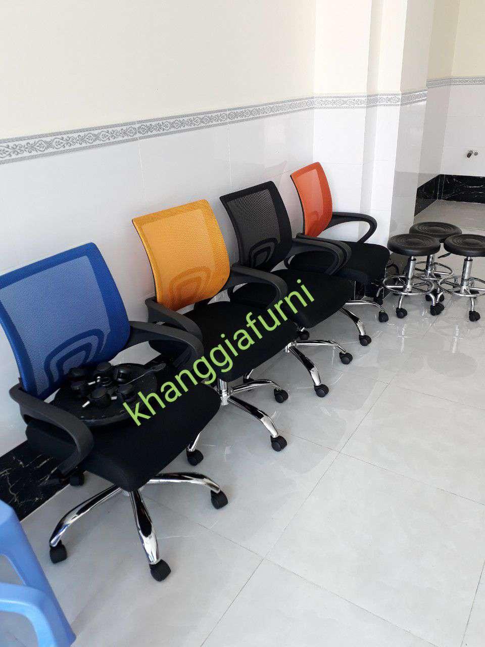 Ghế lưới văn phòng giá rẻ màu theo yêu cầu – Mã : 112A