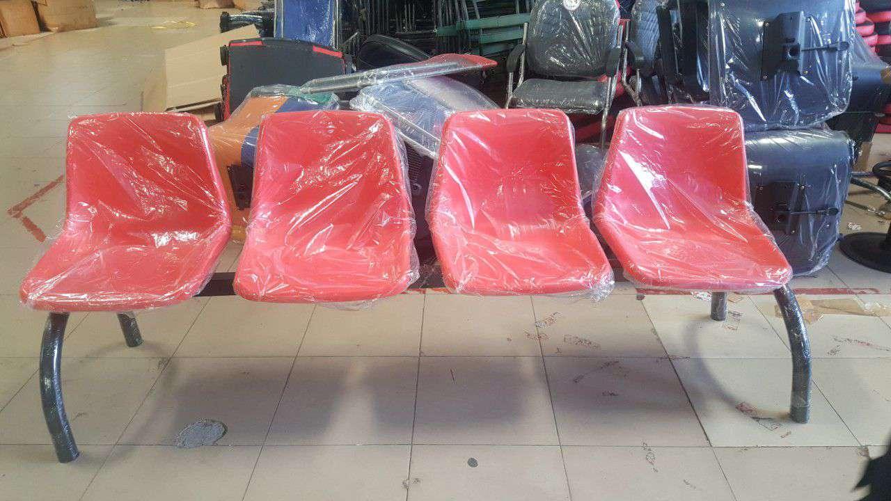 Ghế băng chờ mặt nhựa 4 chỗ KG – 704