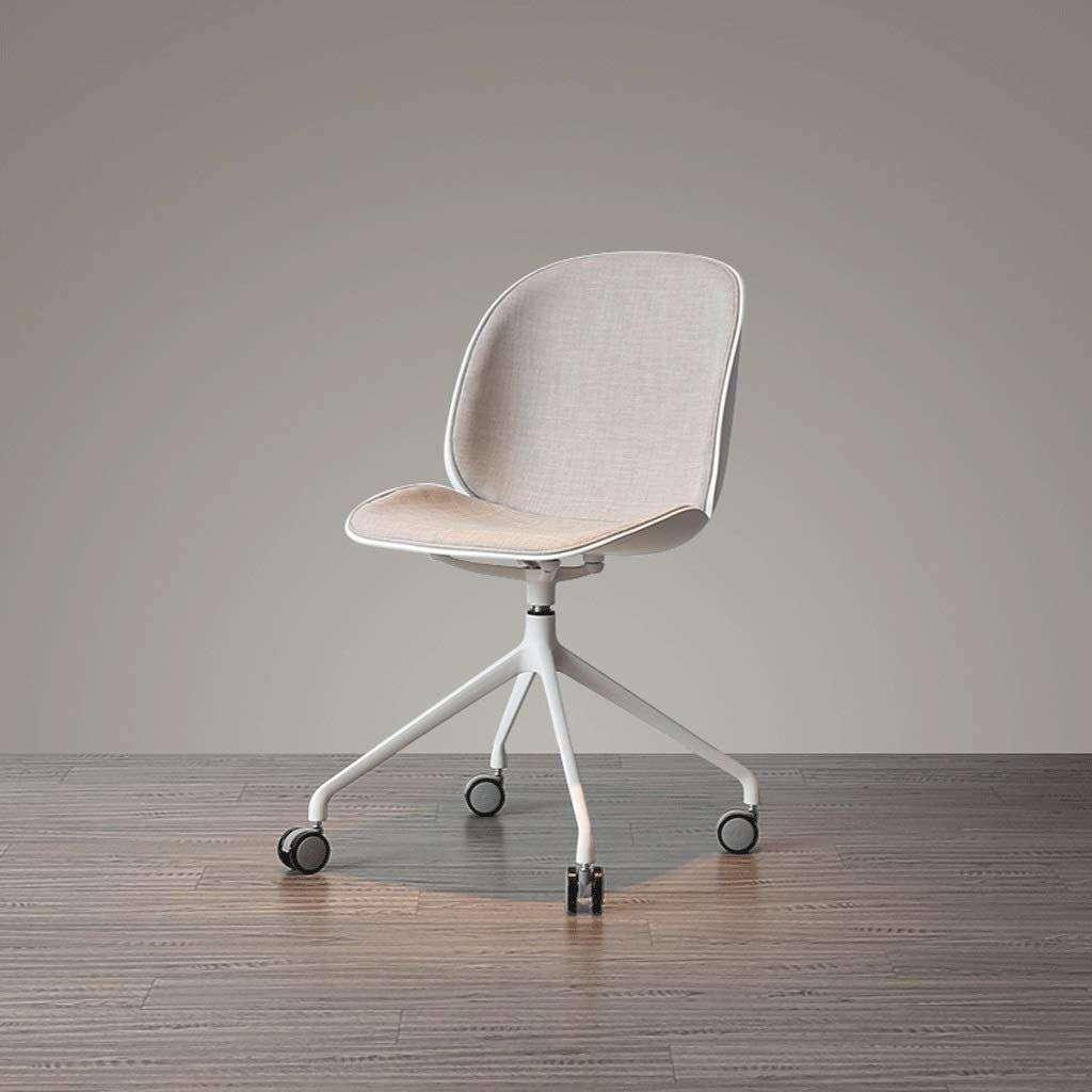 Ghế xoay lưng nhựa bọc vải cao cấp – Mã : X1920