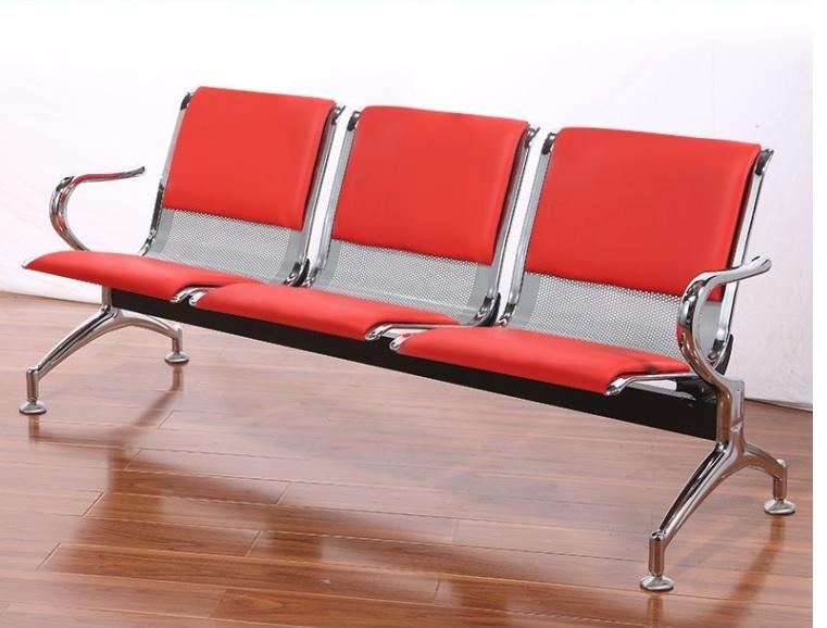 Ghế phòng chờ 3 chỗ bọc nệm : KG – 03N