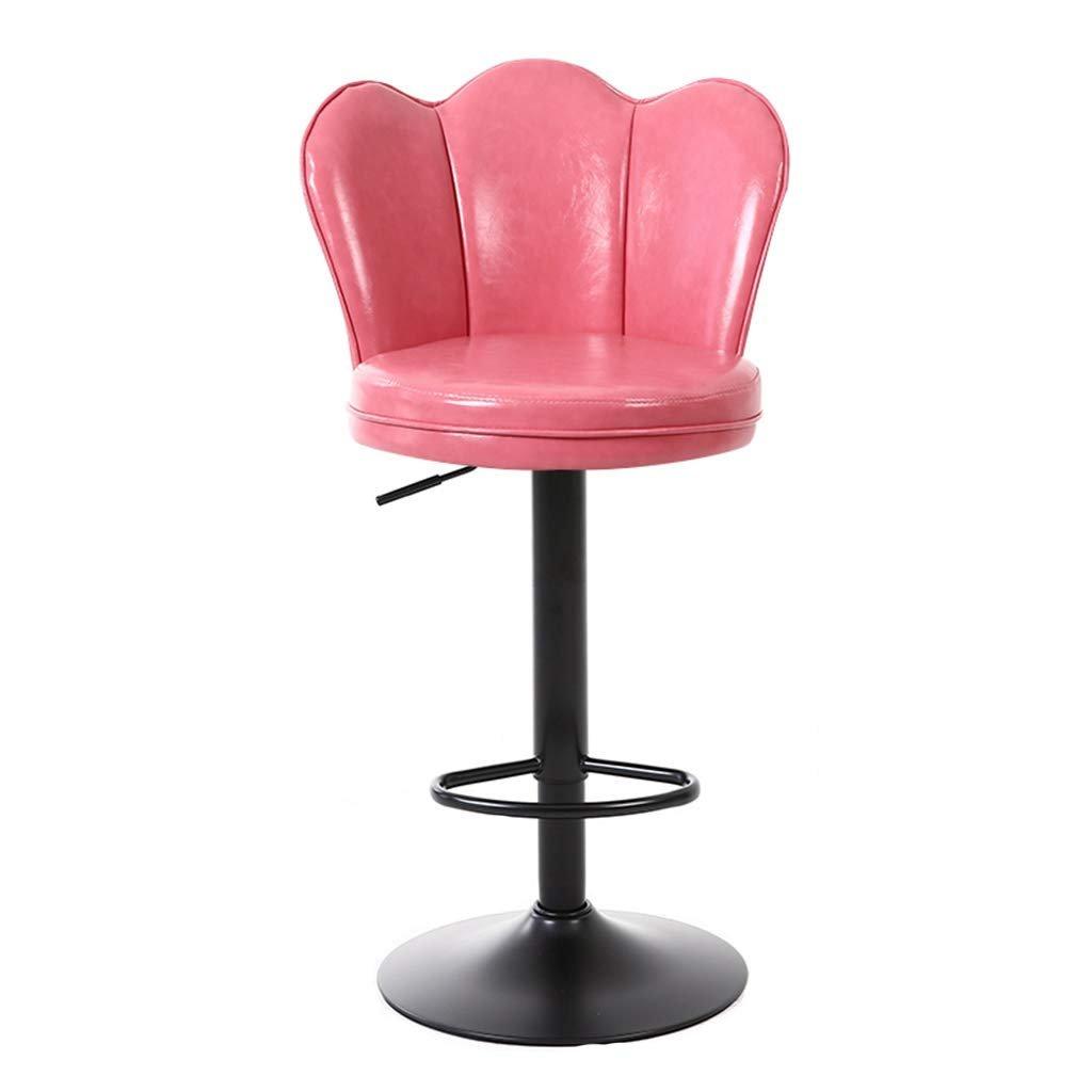 Ghế quầy bar tựa lưng vương niệm chân đen : KG – B445
