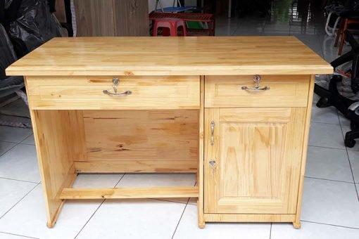 Bàn học sinh gỗ thông : KG – 100×5