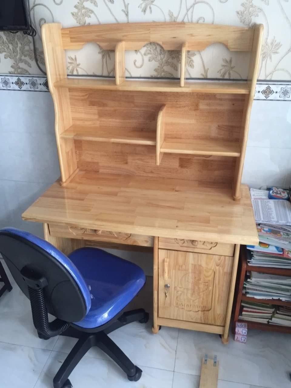 Bàn học sinh gỗ thông giá rẻ TPHCM : BHS – 100