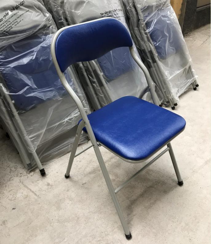 Ghế gấp khung sơn Xuân Hòa : GS-01-00 PVC
