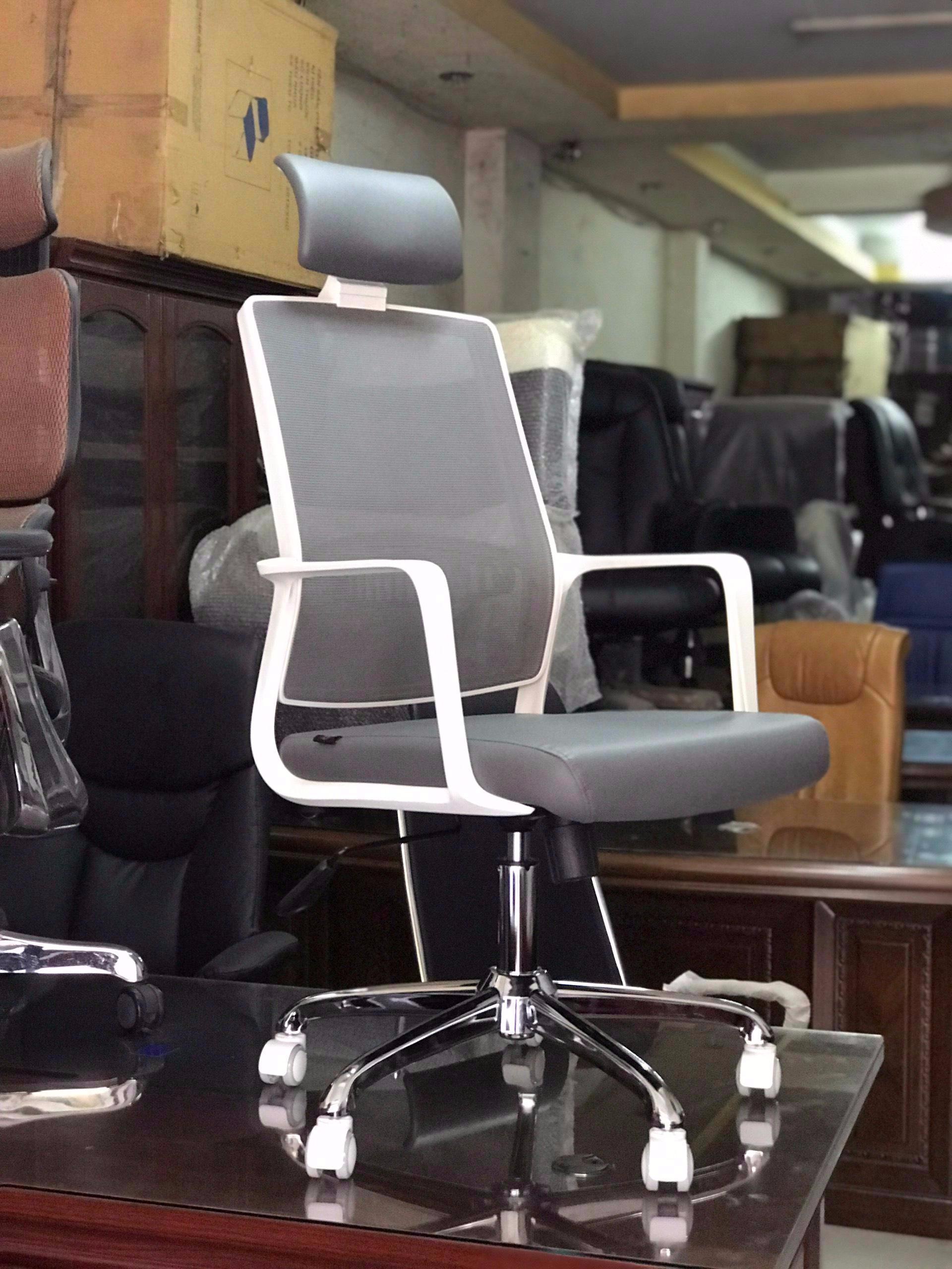 Ghế lưới văn phòng cao cấp raibow : KG – B206AS