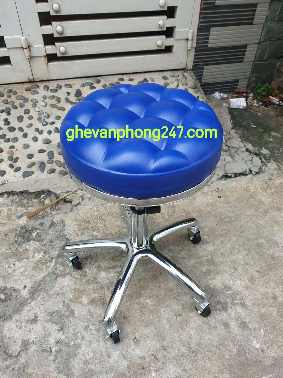 Ghế xoay inox spa 3 màu : SP-19