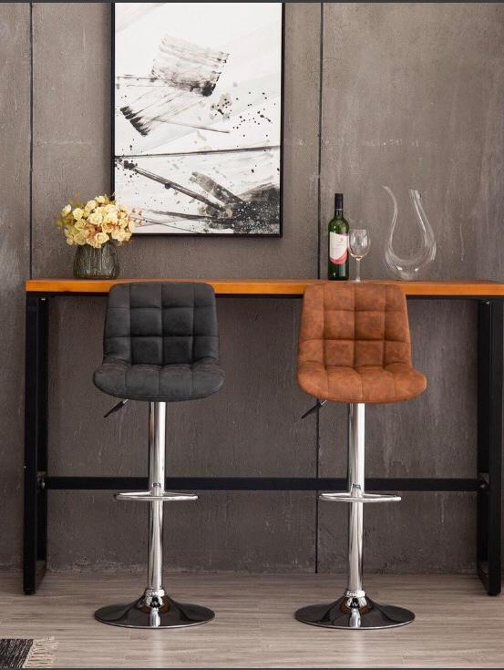 Ghế quầy bar chân điểu chỉnh cao thấp : KG – B109-1