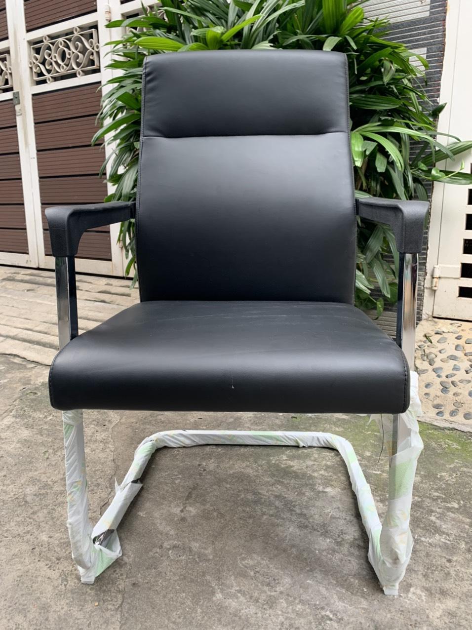 Ghế văn phòng chân quỳ bọc da PU giá rẻ : KG – D280