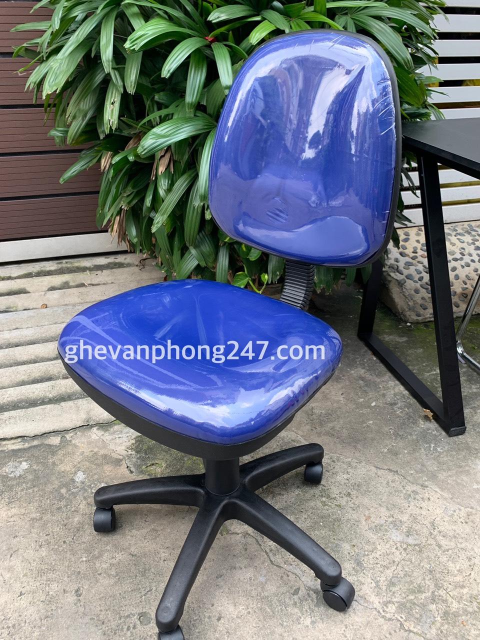 Ghế xoay văn phòng lưng bầu không tay : KG – 028