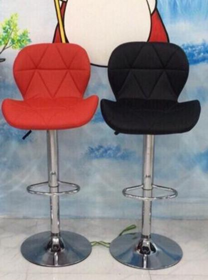 Ghế quầy bọc da lưng cong nhập khẩu – KG-012C