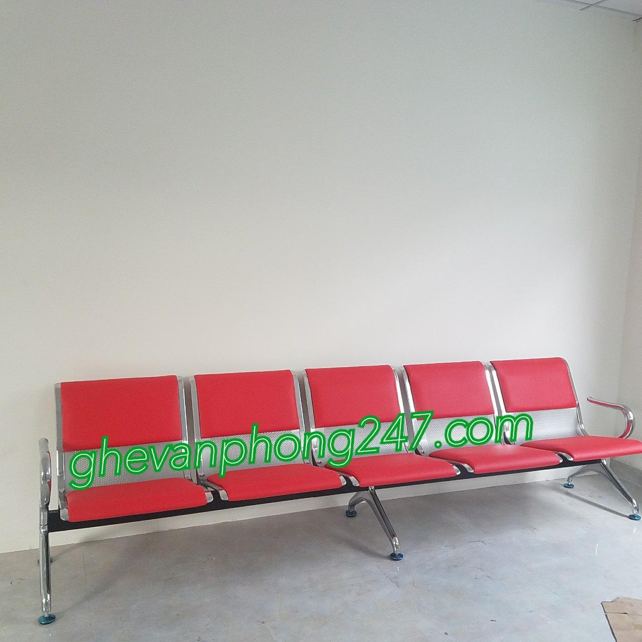 Ghế băng chờ bọc nệm 5 chỗ giá rẻ : KG – B05N