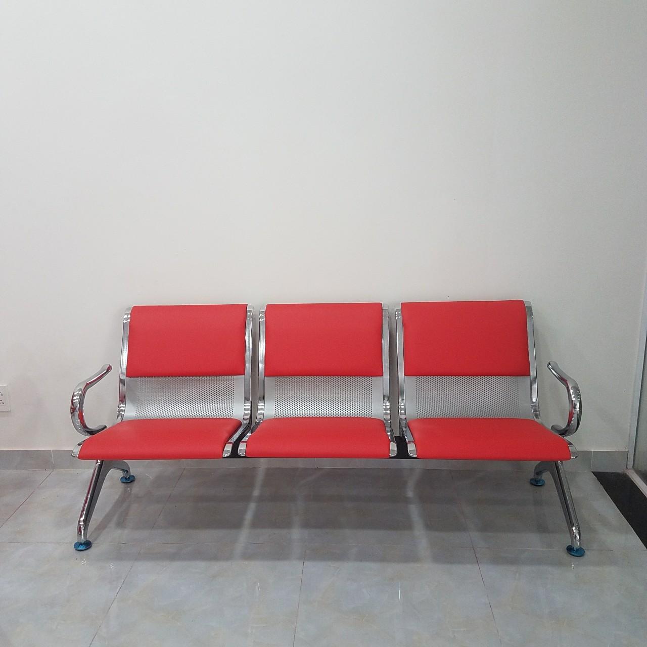 Ghế phòng chờ bọc nệm 3 chỗ : KG – 03SN